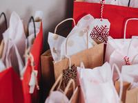 Wrap up presents with these gift bags and boxes