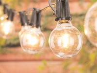 Light up the night with these outdoor LED string lights