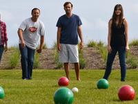 Enjoy a classic lawn game with these bocce ball sets