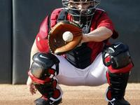 Only a quality glove can extend the baseball catcher's  tenure