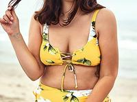 You don't have to be a size 2 to rock these gorgeous swimsuits!