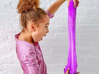 Kids love to squish and stretch this slime!