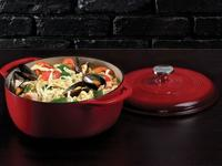 Cook inside or outside with a cast iron dutch oven