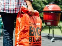 Become King of the Grill with flavorful and easy burning charcoal