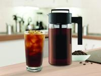 Indulge in a rich cold brew with an iced coffee maker