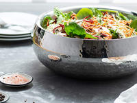 Present your greens beautifully with the best salad serving bowl