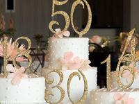 Celebrate your most joyous occasions with the best cake toppers