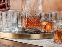 Savor the taste and complexity of fine whiskey with these whiskey glasses