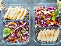 Portion and prepare until your heart's content with meal prep containers