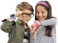 Track fitness, location, and schedules with a kids' smartwatch