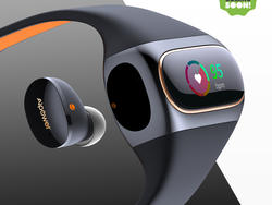 Aipower unveils Wearbuds, the first wireless earbuds in a fitness band