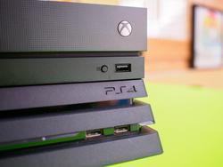 The console wars continue with the Xbox One X and the PS4 Pro