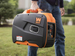 The WEN 2250W generator on sale for $440 produces power without the noise