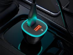 Customize the glow of this Roav Spectrum Lite car charger on sale under $12