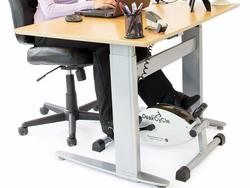Work out while you work with the $119 DeskCycle Under Desk Pedal Exerciser