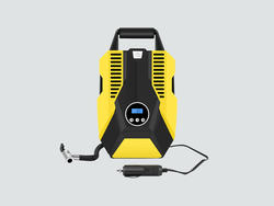 Overcome low air pressure at a low price with this portable air compressor
