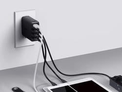 Leave no device uncharged with Aukey's 4-port USB wall charger at 20% off