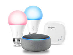 Get a Sengled smart 2-bulb starter kit on sale for $70 with a free Echo Dot