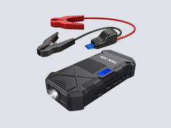 Start your engines with this 14000mAh Portable Car Jump Starter at 20% off