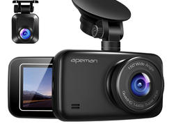 Score two Apeman dash cams for less than the price of one