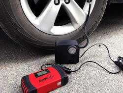 Keep your tires and bank happy with this $8 Gooloo Portable Air Compressor