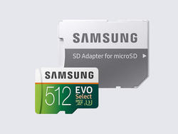 Gain 512GB of storage with this Samsung Class 10 microSD card down to $100