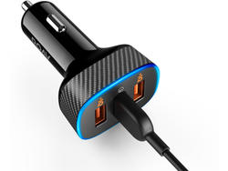 The discounted Roav SmartCharge Halo can power three devices at once