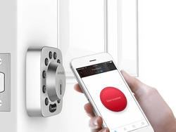 This Ultraloq U-Bolt Smart Deadbolt can control your door with your phone
