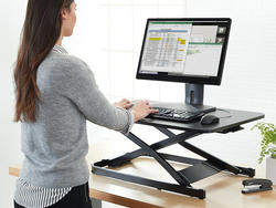 Any desk can be a standing desk with this adjustable converter down to $90