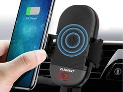 Take a drive with this wireless charging phone mount to power up at 40% off