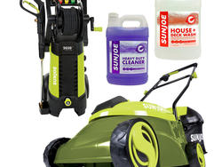 Stock the shed with Sun Joe outdoor power equipment at up to 20% off today
