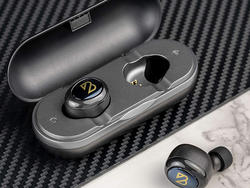 The Back Bay Duet 50 true wireless earbuds on sale for $36 last 40 hours