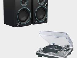 Bundle Audio-Technica's turntable and Mackie's speakers for $253 total