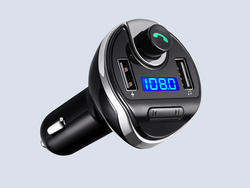 Stream music to your car radio with this $8 Bluetooth FM Transmitter