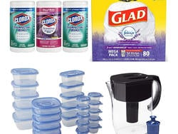 Stock up on garbage bags, Clorox wipes, and other essentials this Prime Day