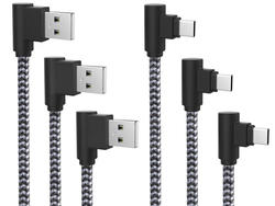 Score three right-angle USB-C cables for only $7 with this coupon code