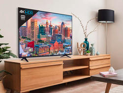 This refurb 55-inch TCL 4K Smart TV features Roku at a low price of $250