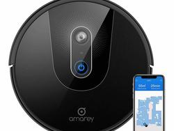 Set a cleaning schedule with $140 off Amarey's A900 Robot Vacuum Cleaner