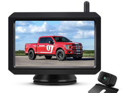 Backup safely with the Auto-Vox W7 rear camera kit on sale for $84