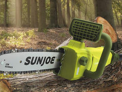 Get more yard work done with Sun Joe's electric chainsaw on sale for $52