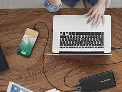 The RAVPower 26800mAh power bank on sale for $54 powers up everything