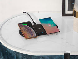 Anker's discounted PowerWave 10 wirelessly charges two devices at once