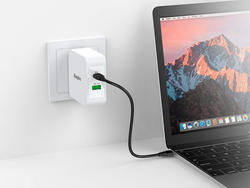 Get back to 100% faster with EasyAcc's USB-C Wall Charger at nearly 50% off