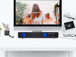 Plug ELEGIANT's USB Stereo Sound Bar into your computer at almost 45% off