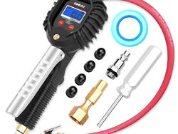 Enter a coupon code to take 50% off this GOOLOO digital tire pressure gauge