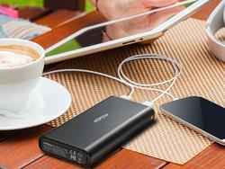 Pocket this dual-USB Mpow 20000mAh power bank at over 50% off