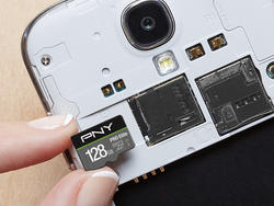 Expand your storage with PNY's 128GB microSDXC card on sale for $25
