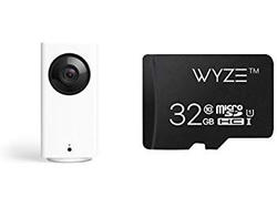 Bundle Wyze's indoor security camera with a 32GB microSD card for just $38