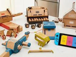 Augment your Nintendo Switch with the Labo Variety and Robot kits for $25