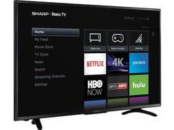 Grab a new Sharp 43-inch 4K Roku TV with $90 off today